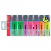 Stabilo Boss Highlighter Asst 70/8 Pk8