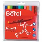 Berol Colrbroad PenAsst Pk12 S0375990