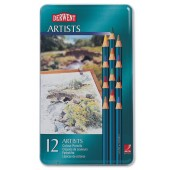 Rexel Derwent Artists Pencil Pk12 32092