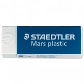 Staedtler Mars Plastic Eraser Premium Quality Self-cleaning 65x23x13mm Ref 2650BK2DA [Pack 2]