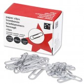 5 Star Paper Clips Large Plain Bxd 1000