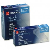 Rexel 25 Staples 4mm 05020 Bxd 1500