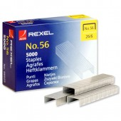 Rexel 56 Staples 6mm 06025 Bxd 5000