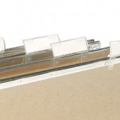 Elba Clear Plastic Tabs 100330216 Pk50