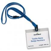 Durable Textile Bdg N/LaceBlu Pk10 8119