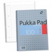 Pukka Pad A4 W/Bound N/Book 100pg EM003