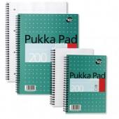 Pukka Pad A4 W/Bound N/Book 200pg JM018