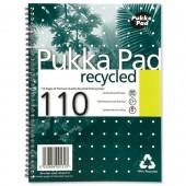 Pukka Pad Recyc W/Bnd N/Bk A4 110pg RCA4