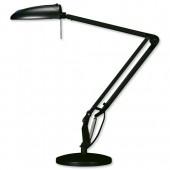 Helix 50W Halogen Prem Lamp BLK VL3010