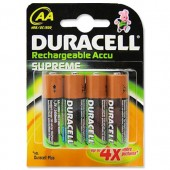 Duracell NiMH Rechargeable/Accu AA Pk4