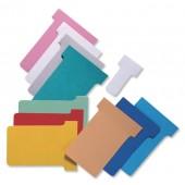 Nobo T-Cards Asstd Size 2 54100 Pk100
