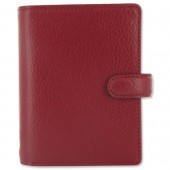 &Filofax Finsbury Mini Org Red 025388