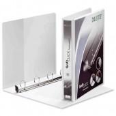 &Leitz 25mm pres binder wht 42010001
