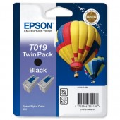 &Epson Twin Ink Cart Black T01940210