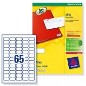Avery Labels Mini 38.1x21.2mmL7651-250