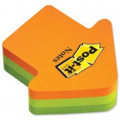 Post-it Notes Arrow Block 2007A Pk1