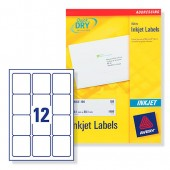Avery Labels 63.5x72mm Inkjet J8164-100