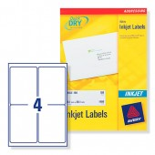 Avery Lebels 139x99.1mm Inkjet J8169-100