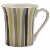 LatteShapeMugSet Stripes Pk6 SW1396