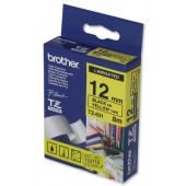 BrotherPtouch TZE8mtp12mm Blk/ylw TZE631