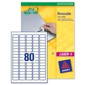 Avery Labels Mini 35.6x16.9mmL4732REV-25