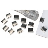 Rapesco S/clip60RflBx100S/Steel CP10060S