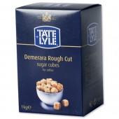 Tate&Lyl Demerara Rough Cubes 1Kg A03903