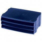Avery DTR Wide Entry Trays Blu DR800BLUE
