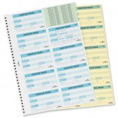 Durable Visitor Book 300 Inserts Refill