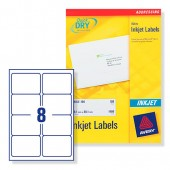 Avery Labels Address Wht Inkjet J8165-25
