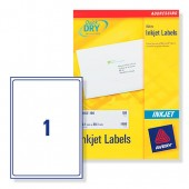 Avery Labels Address Inkjet Wht J8167-25
