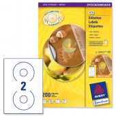 Avery Laser Labels Classic CD  L6043-100