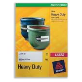 Avery Labels Heavy Duty White L4775-20