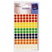 Avery Colour Coding Dot 8mm Asst 32-291