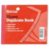 Silvine Duplicate Bk RuledFeint 603