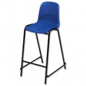 4*Trexus PP High Stool Blue