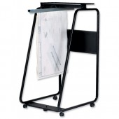 Arnos Hang-A-Plan A0 Trolley Black D057