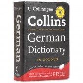 &Collins Gem German Dict 9780007284481