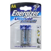 Energizer Ult Lith Battery AA Pk2 629762