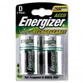 &Energizer Recharge Battery D Pk2 626149