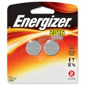 Energizer Lith Battery CR2016 Pk2 626986