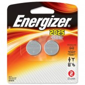 Energizer Lith Battery CR2025 Pk2 626981