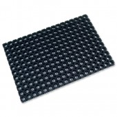 &Doortex 600mm x 800mm Mat BLK 468220CBK
