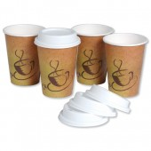 Coffee Cup&Lid Combi Pack Pk50 B03289