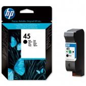 HP 45 Inkjet Cart Black 51645GE