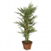 2*Bamboo-terracotta effect pot