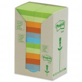 Post-it Rcyc Carton Rbow Pk24 653-1RP