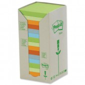 Post-it Rcyc Carton Rbow Pk16 654-1RP