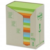 Post-it Rcyc Carton Rbow 3x5 Pk16 655-1