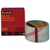 Scotch Book Repair Tape 50.8mmx13.7M845